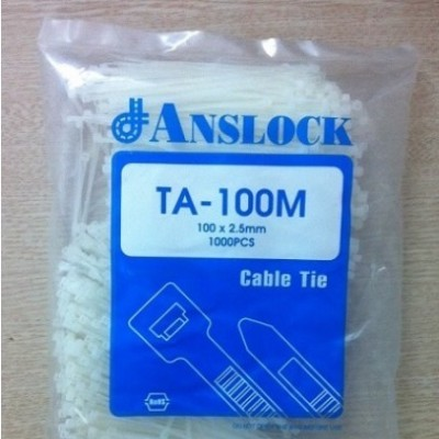 Dây Thít Nhựa 10cm (lạt nhựa)
